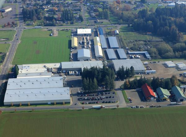 Lynden Door Manufacturing Plant in Lynden, WA.