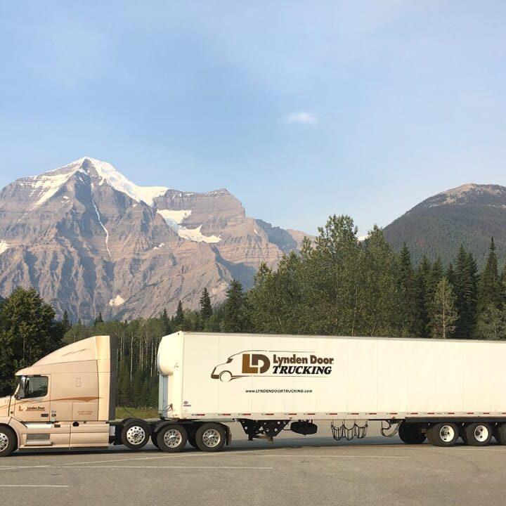 Lynden Door Trucking promo image